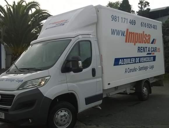 Alquiler De Furgonetas Y Camiones