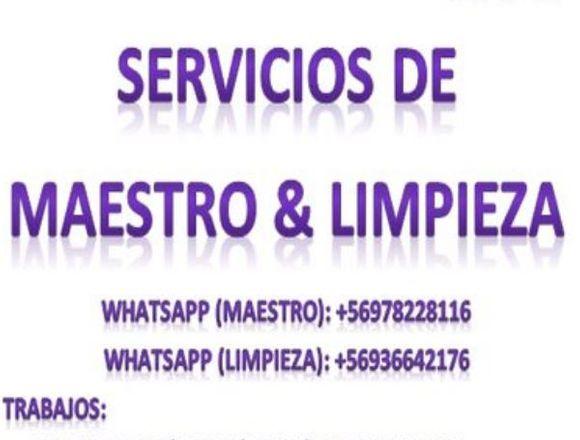 SERVICIOS DE  MAESTRO & LIMPIEZA