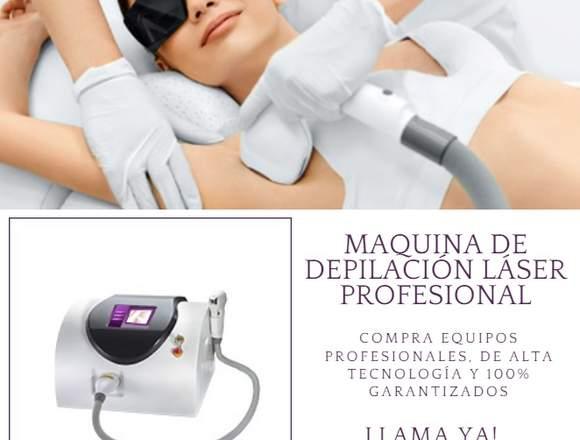 venta maquinas depilacion laser profesional