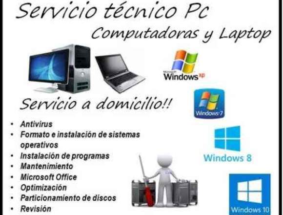 mantenimiento de software y  hardware  de pc