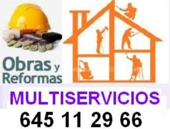 OBRAS REFORMAS CONSTRUCCION ALBAÑILERIA