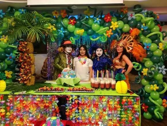 Fiestas infantiles y eventos sociales a domicilio