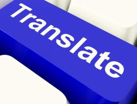 Traducciones Escritas de todo tipo en 4 Idiomas