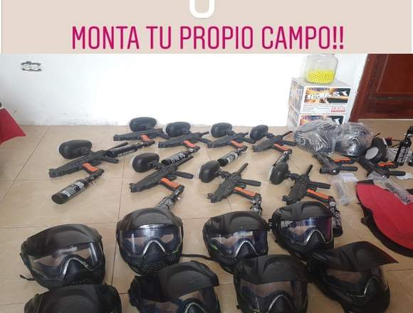 Negocio de paintball