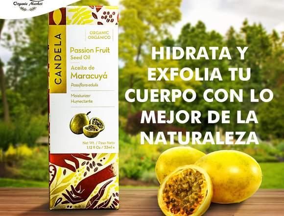 Aceite de maracuya Free Organic Market