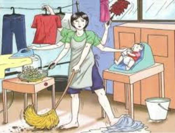Niñera y limpieza del hogar