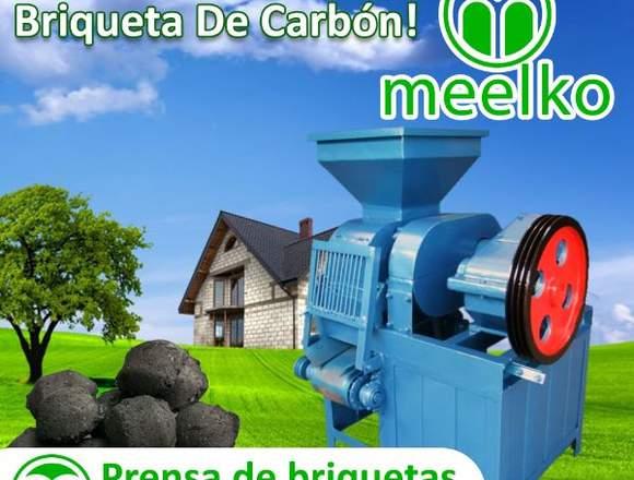 Prensa de briquetas de carbon MKBC02