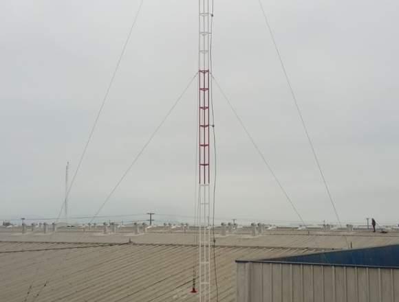 Instalaciones de torres y antenas de comunicacion