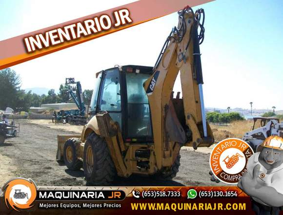 Retroexcavadora 2010 Caterpillar 420E