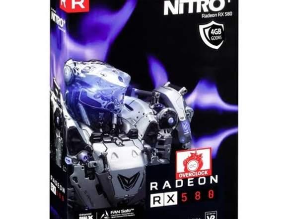Tarjeta gráfica RX 580 4gb DDR5 sapphire Nitro +