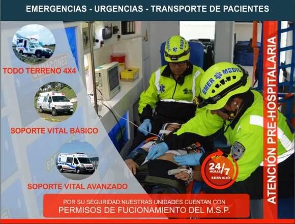 Ambulancias Quito Ecuador