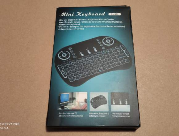 Teclado Retoiluminad Box Android, Computador