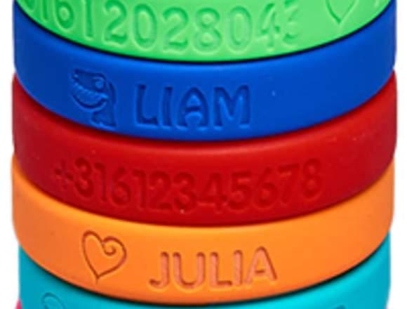 Nuevas pulseras personalizadas de silicona