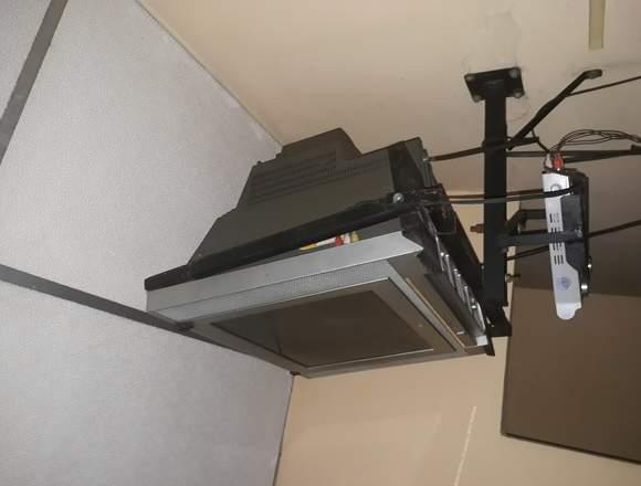 Televisor con soporte lg
