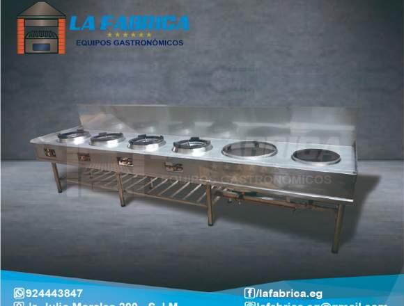Cocinas Chiferas La Fábrica Equipos Gastronómicos