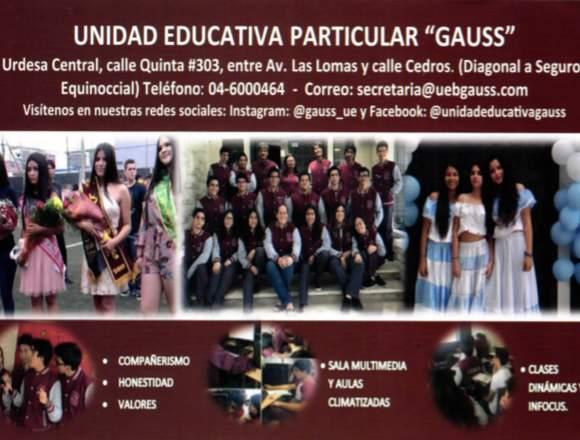 Unidad Educativa Gauss
