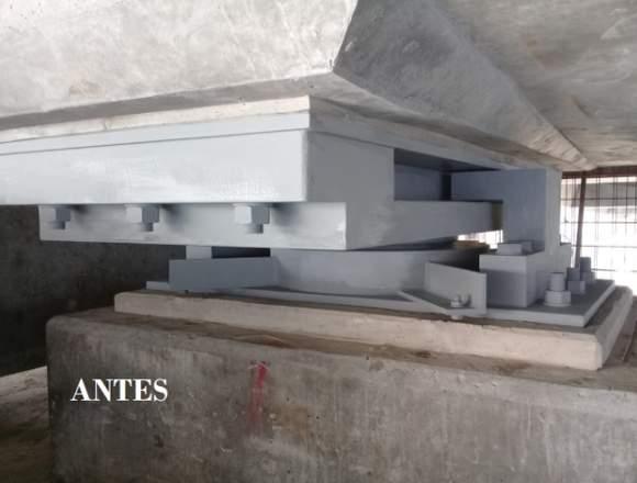 Sandblasting - pintura - construcciones