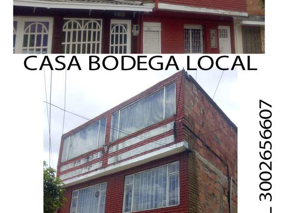 vendo casa 360 m2 - Vendo casa-bodega-local