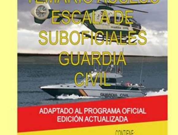 Temarios para Oposiciones de la Guardia Civil