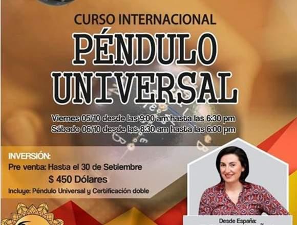 CURSO INTERNACIONAL DE PÉNDULO UNIVERSAL