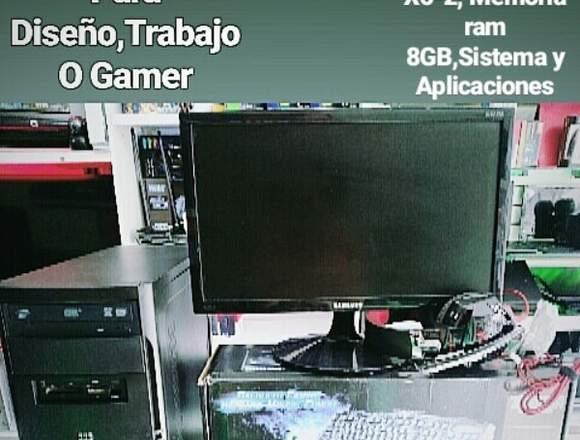 PC DE ESCRITORIO PARA DISEÑO,TRABAJO O GAMER