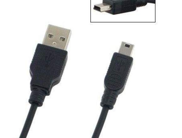 Cable Datos Mini Usb Blackberry Mp3 Mp4 Tablets 1M