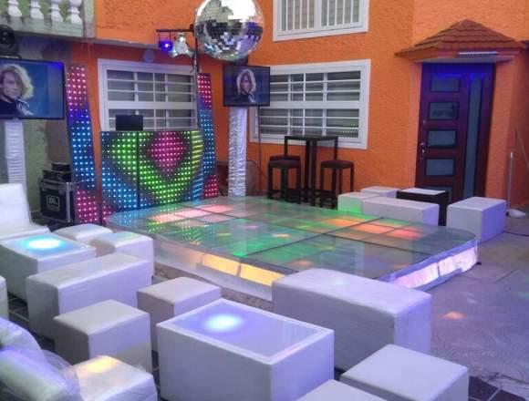DJ. Audio e Iluminación, Banquetes y más.