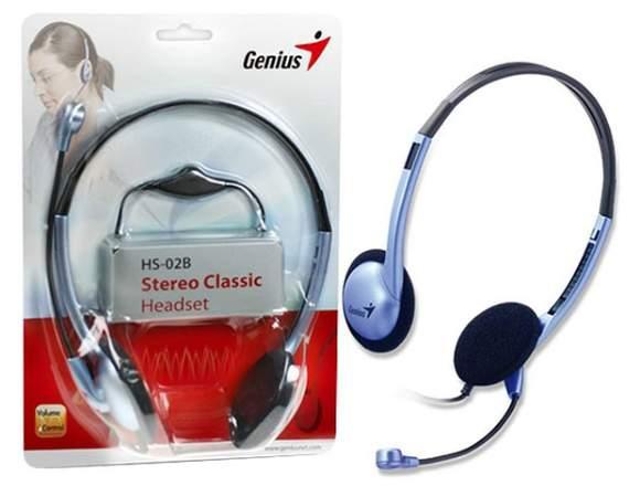 Genius HS 02B - Audifonos