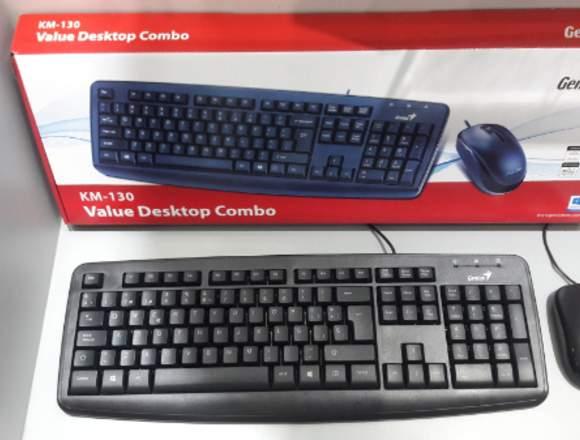 Valve Desktop Teclado Genius Kb130k
