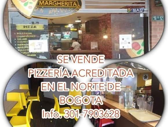 Se vende pizzeria en el norte de Bogotá