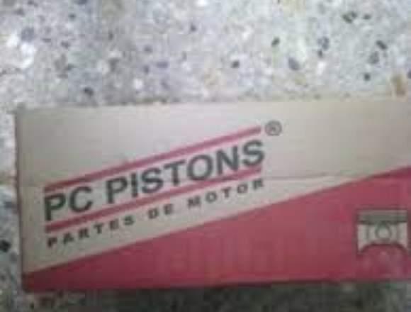 Juego de pistones ford 200/250 a 0.30