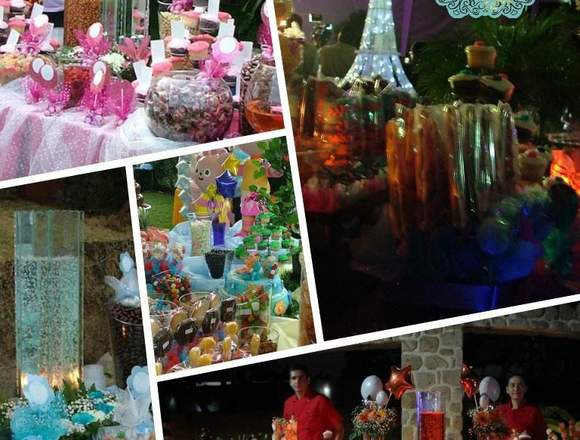 Mesa de dulces, Candy bar