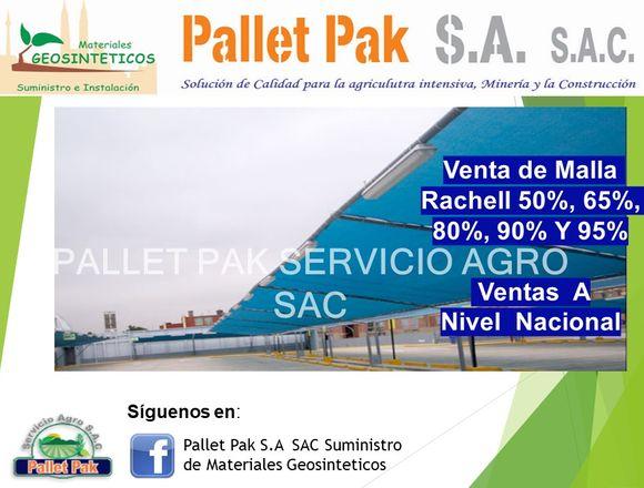 VENTA DE MALLA RASCHEL 50% a 95%