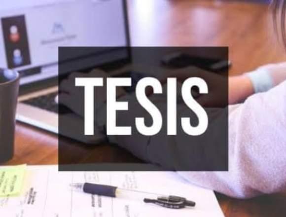 TRADUCCIÓN DE TESIS Y TITULOS