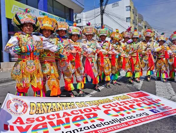 DANZANTES DE TIJERAS YAWAR CHICCHI PERU