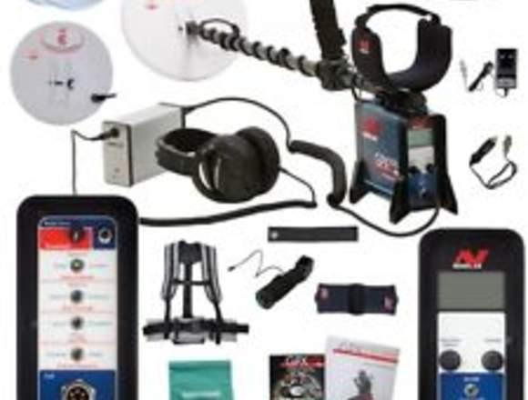 detector de metal MINELAB GPX 5000 genuino