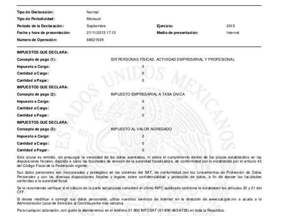 FACTURAS Y DECLARACIONES DE IMPUESTOS.