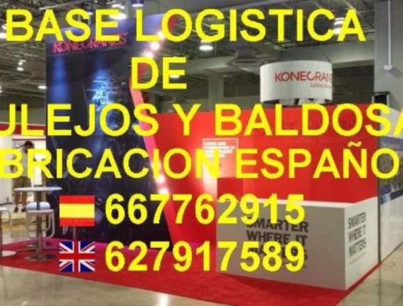 BASE LOGISTICA DE AZULEJOS DESDE 1€