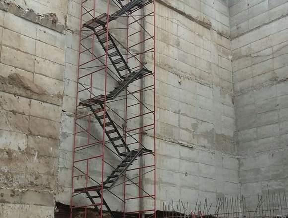 Andamios con escaleras de Evacuación 02-3261089