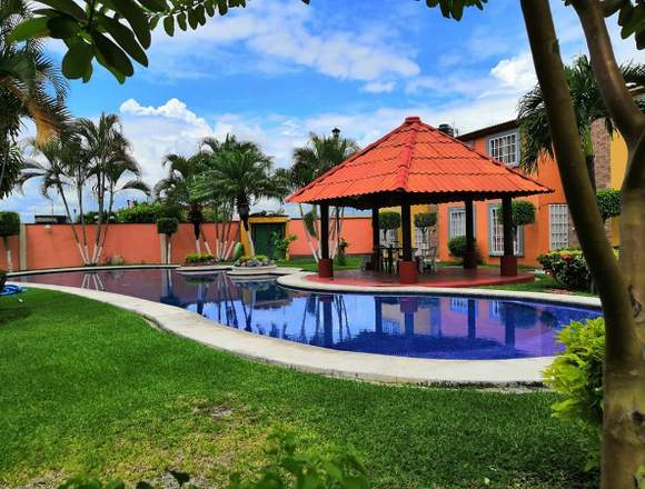 Casa 2 recamaras y alberca a 15min de Cuernavaca