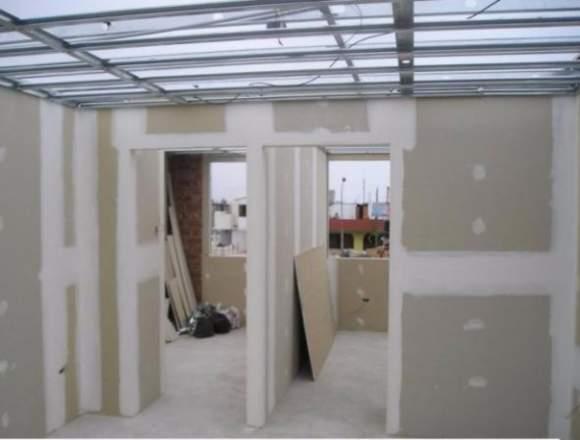 instalaciones en drywall