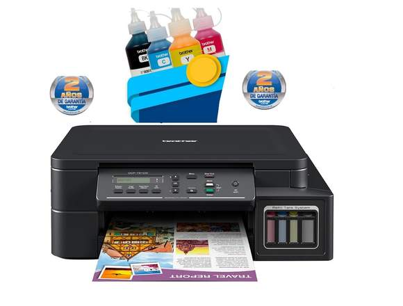 IMPRESORA MULTIFUNCIONAL BROTHER DCPT510W