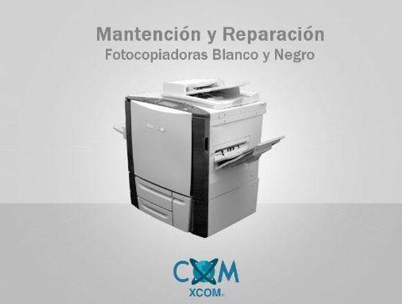 Mantención y Reparación Fotocopiadoras B/N Terreno