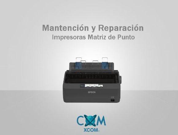 Mantención y Reparación Impresoras Matriz de Punto