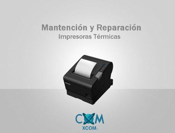 Mantención y Reparación Impresoras Térmicas