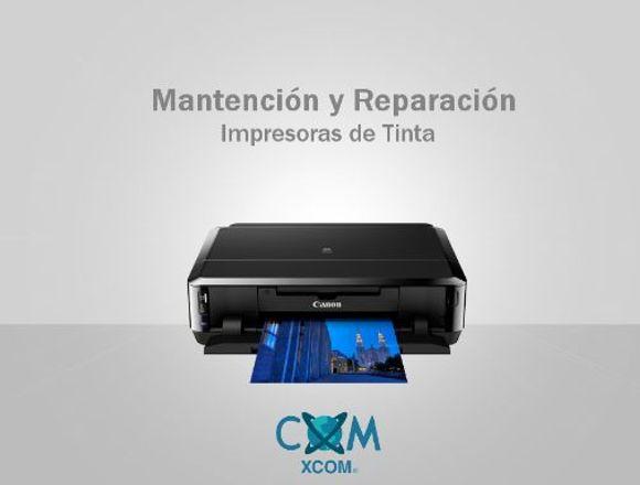 Mantención y Reparación Impresoras Cartucho Tinta
