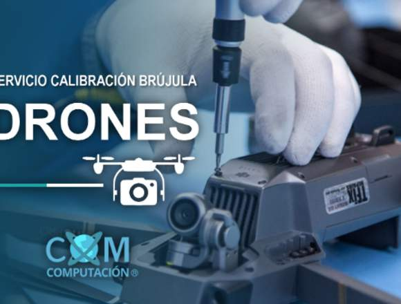 Servicio Calibración de Brújula Drones