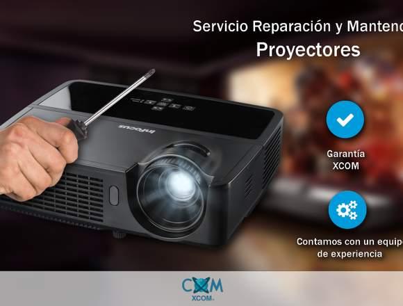 Servicio de Reparación y Mantención Proyectores