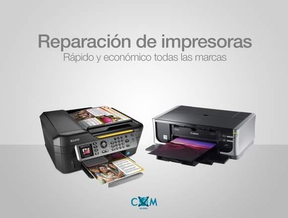 Mantención y Reparación Impresoras de todo tipo