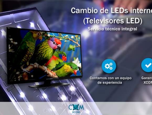 """Cambio de LEDs internos hasta 39"""" - TV LED"""